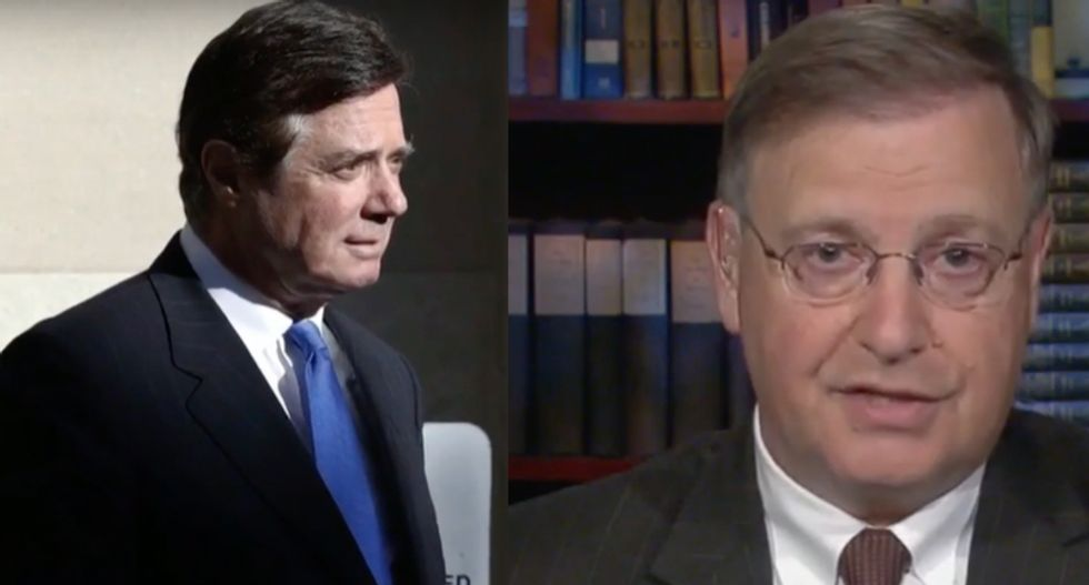 MSNBC legal analyst reveals why Manafort cracked: 'He cannot rely on' a pardon