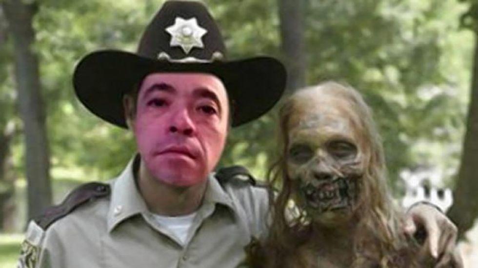 'Walking Dead' fan found guilty of killing 'zombie' wife