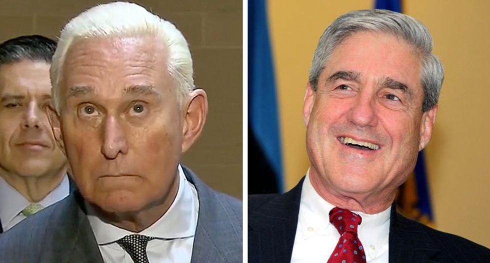 Expect Roger Stone to 'fold like a cheap lawn chair' under Mueller indictment: Former federal prosecutor
