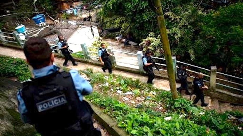Brazilian police accused of torturing bricklayer to death and hiding his body