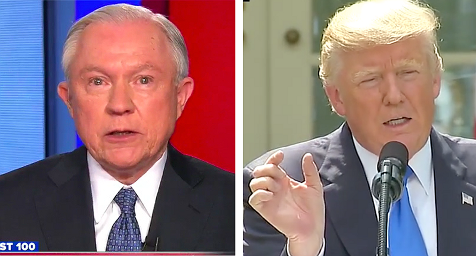 Ex-US attorney rips Trump's 'abject humiliation' of Sessions: He sees the attorney general as 'his personal lapdog'