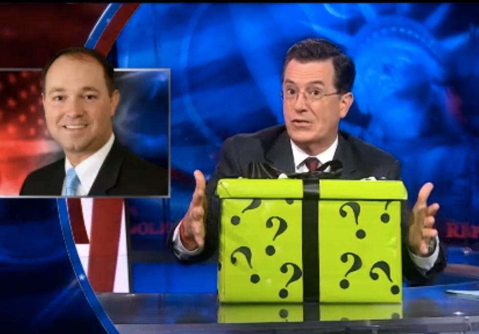 Colbert offers Republicans 'secret mystery box' to end shutdown