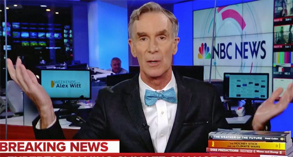WATCH: Bill Nye perfectly explains just why Hurricane Florence is so devastating