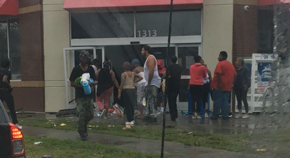 NC cops complain after Dollar Store managers ask them to not arrest black 'looters' during hurricane