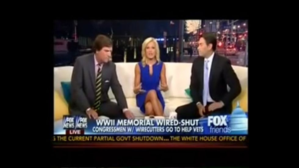 The only thing crazier than the shutdown is Fox News' coverage of it