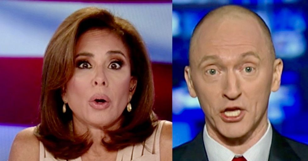 Carter Page tells Fox News' Jeanine Pirro that FBI is to blame for his death threats