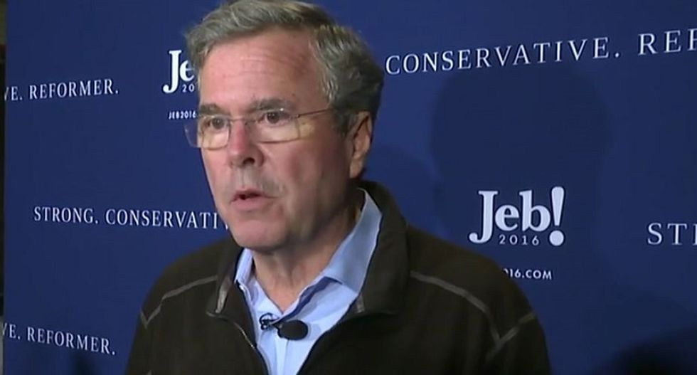 Jeb! reemerges to scold Trump's Twitter habits: He's diminishing the office of the president