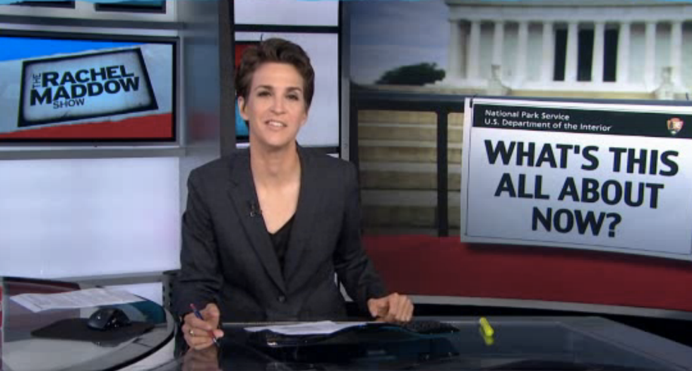 Maddow marvels that Republicans don't really know why they shut down the government