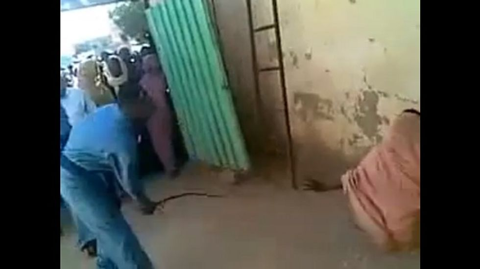 Sudanese woman flogged for being in car with unrelated man