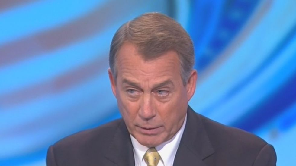 Boehner: 'I'm a reasonable guy' but GOP debt limit demands mean U.S. on 'path' to default