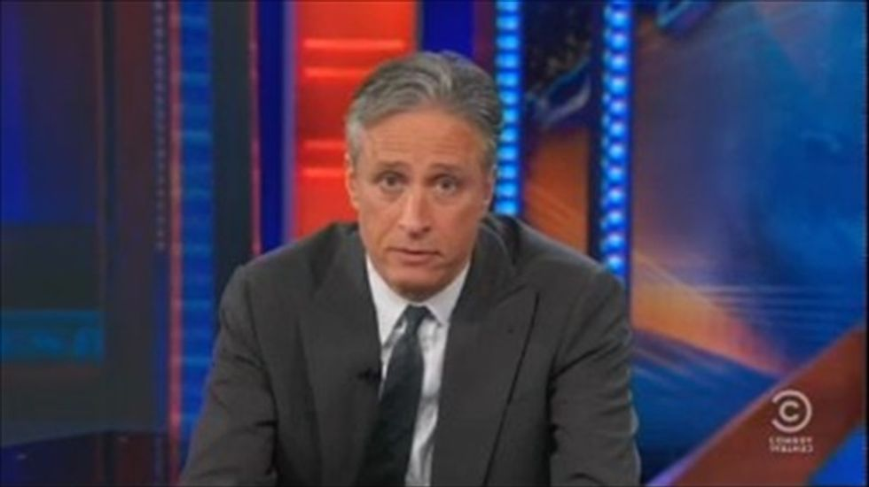 Jon Stewart: Republicans can't take advantage of Obamacare's problems because 'they're f*cking nuts'