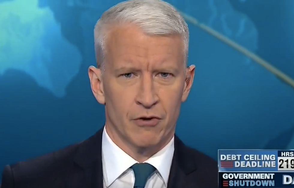 Anderson Cooper schools Republican on shutdown vote: 'You're not on Fox News'