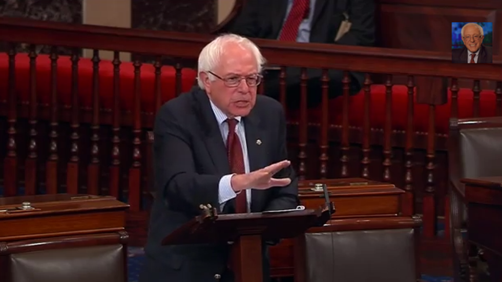 Bernie Sanders: 'Citizens United' ruling led to the government shutdown