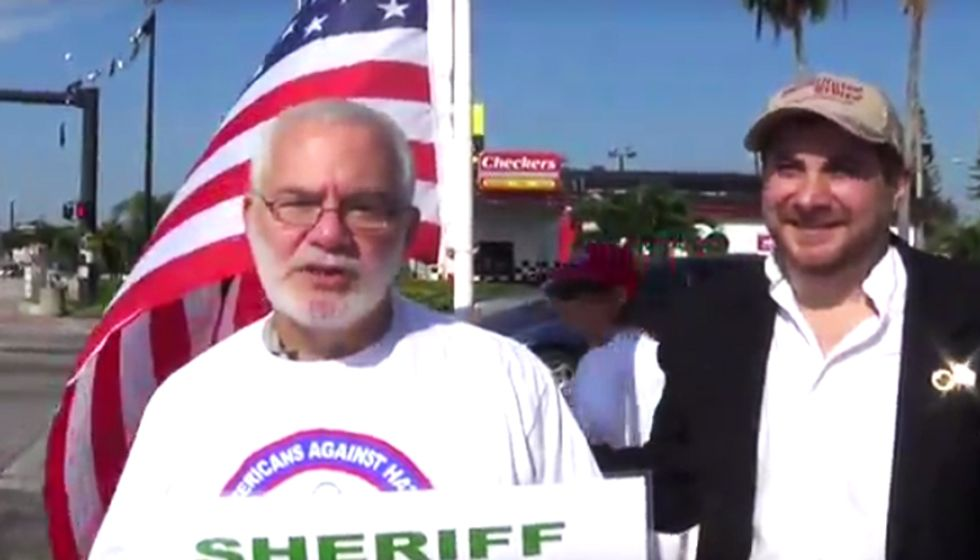 Anti-Islam group and Tea Partiers harass Florida sheriff for hiring Muslim deputy