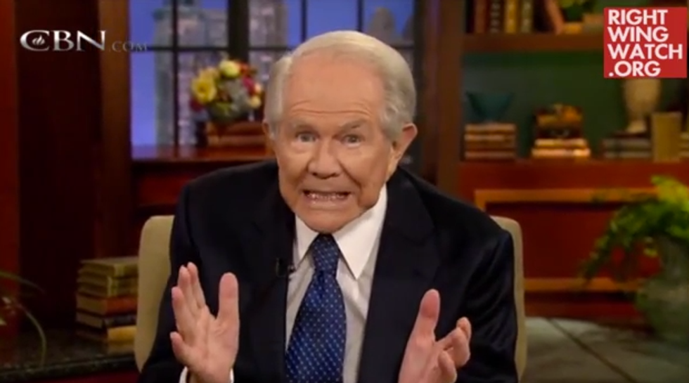 Pat Robertson: God can cause missing limbs to grow back, but don't pray for that