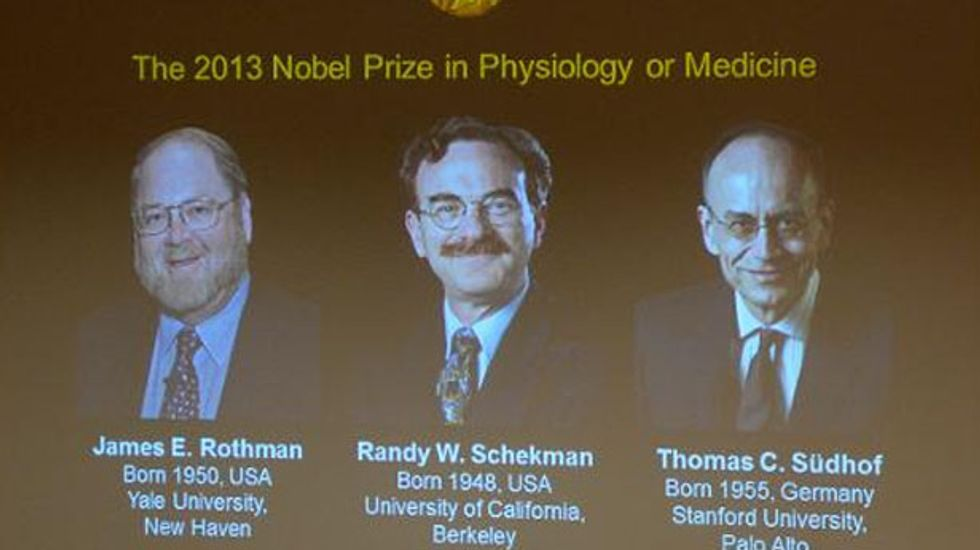 Nobel for medicine goes to researchers who unlocked cell transport system