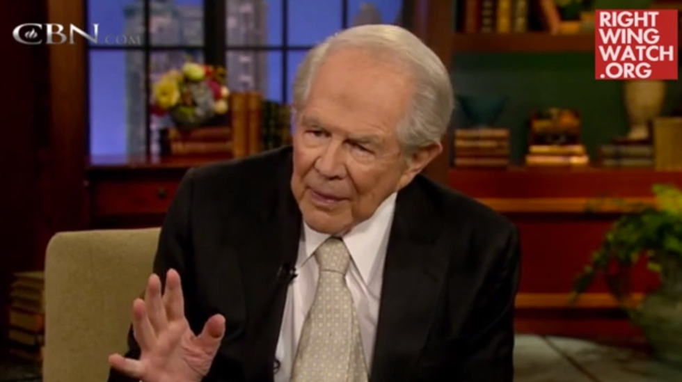 Pat Robertson: Low-carb diets 'violate God's principles' and halal meat funds terrorism