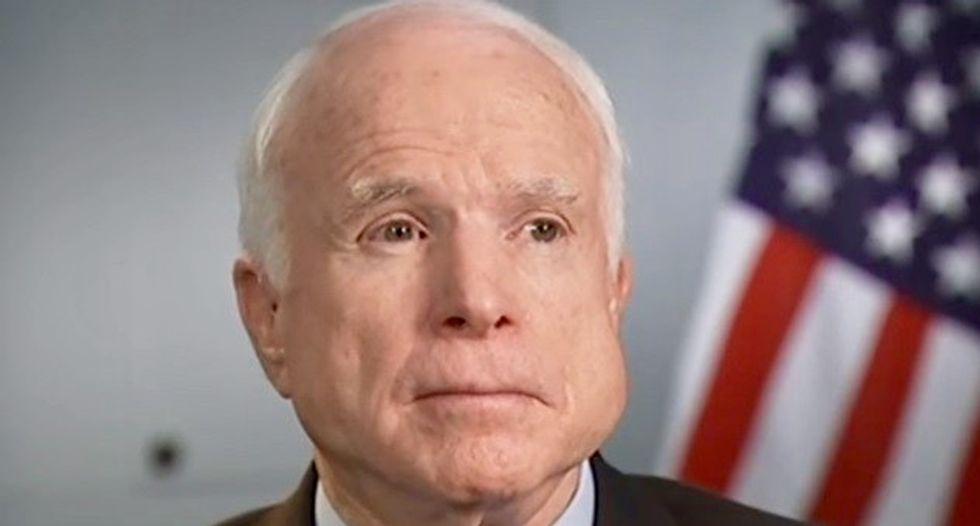 Senator McCain says he will offer Afghanistan strategy in September