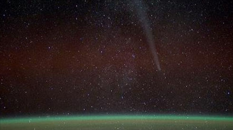 First-ever comet material discovered on Earth