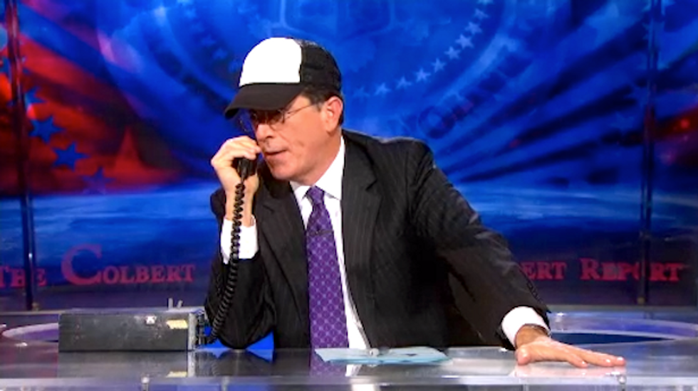 Colbert on trucker protest: We're going to 'deliver a truckload of Kenya back to his home 10-20'