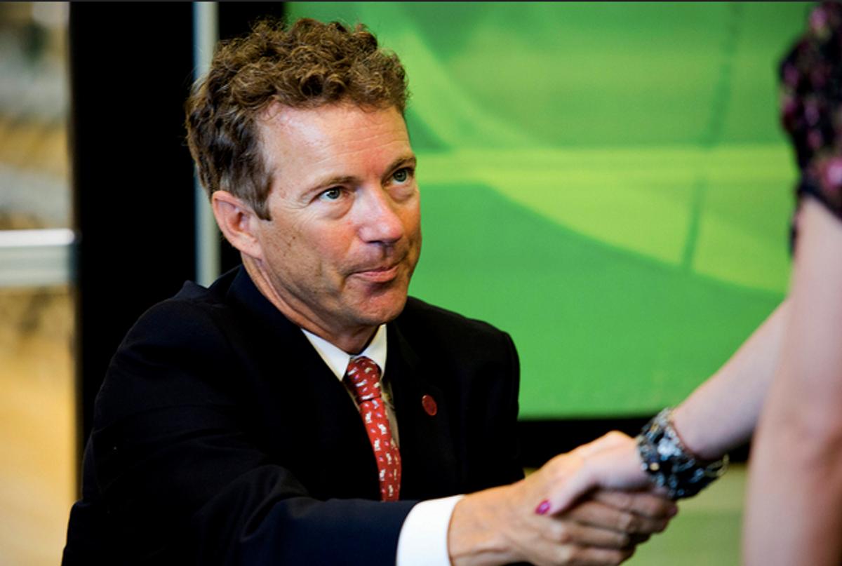 Senator Sherrod Brown calls out Rand Paul: 'He's kind of a lunatic'