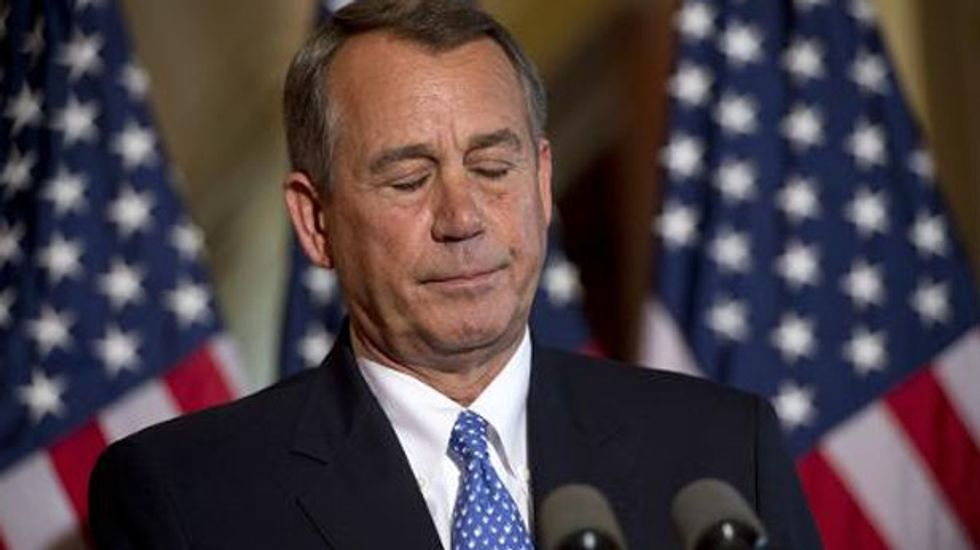 The few existing 'reasonable Republicans' could oust House Speaker John Boehner