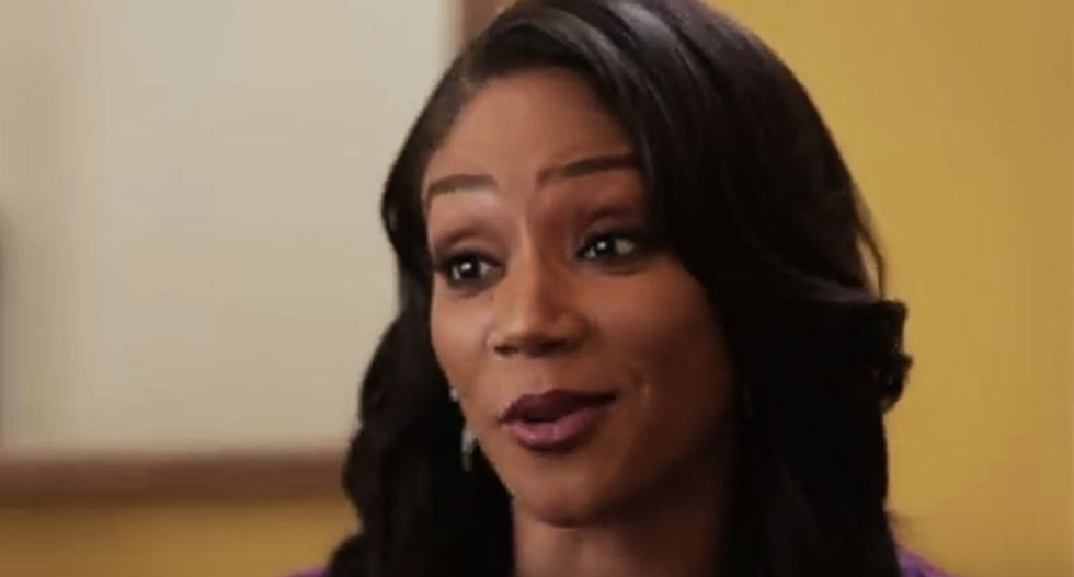 Actress Tiffany Haddish praises the health benefits of drinking toxic turpentine in unbelievable interview