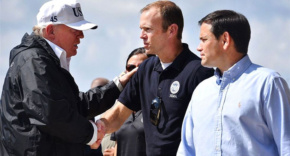 Trump's FEMA chief Brock Long referred to prosecutors for possible violation of 'criminal statutes'