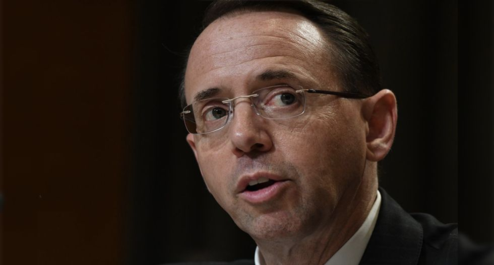 Rosenstein admits he authorized release of Strzok-Page texts that spawned GOP conspiracy theories