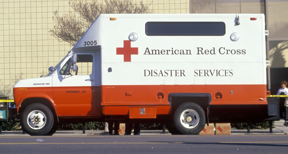 Apple and others help customers donate to the Red Cross, and only the Red Cross