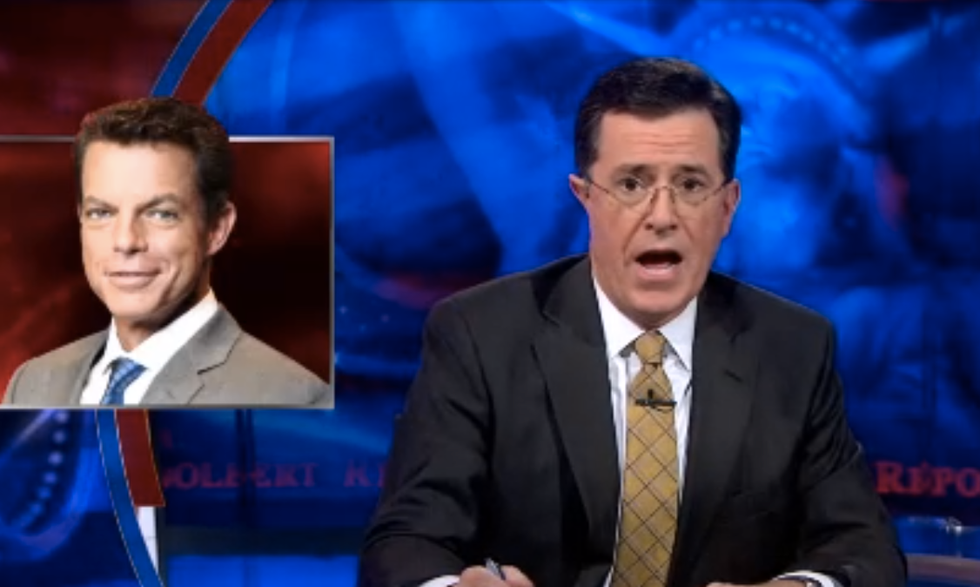 Colbert compares Fox's new media 'Deck' to Star Trek's holodeck: an illusion of news