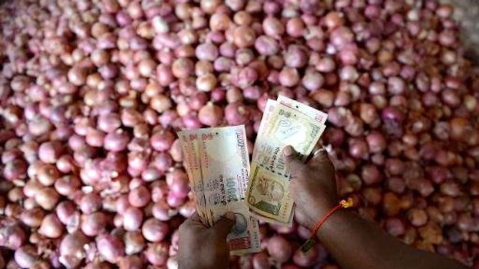 Rising onion costs send India inflation to 7-month high