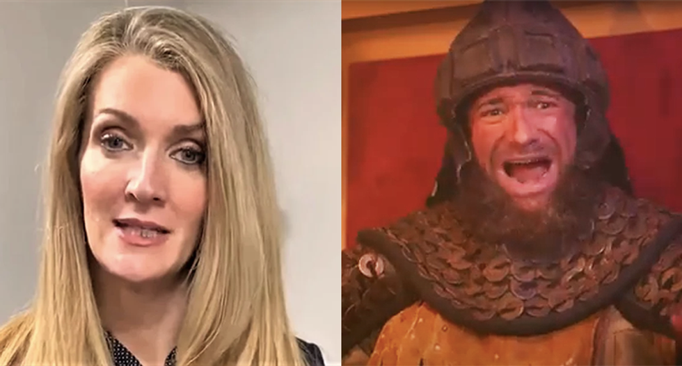 So-called moderate Georgia senator brags she's as conservative as a pagan barbarian who killed his own brother to rule