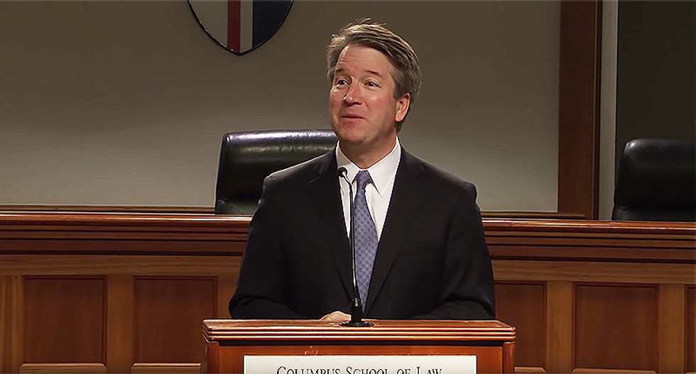 Brett Kavanaugh confesses: 'What happens at Georgetown Prep, stays at Georgetown Prep'
