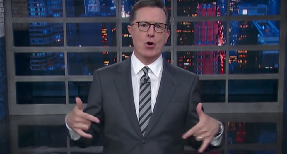 Colbert nails McCabe firing as White House's 'March Madness': 'Speaking of madness -- Donald Trump'