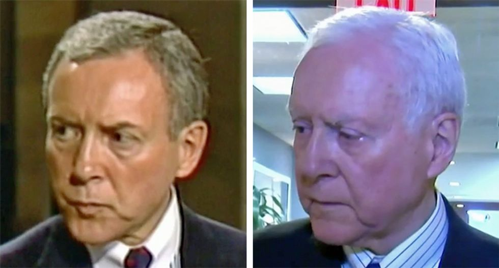 WATCH: Katy Tur dismantles Orrin Hatch with epic mashup of his comments smearing female victims
