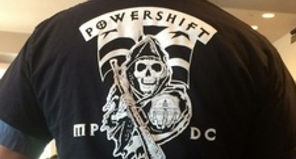 D.C. Cop under investigation for wearing white supremacy shirt on duty