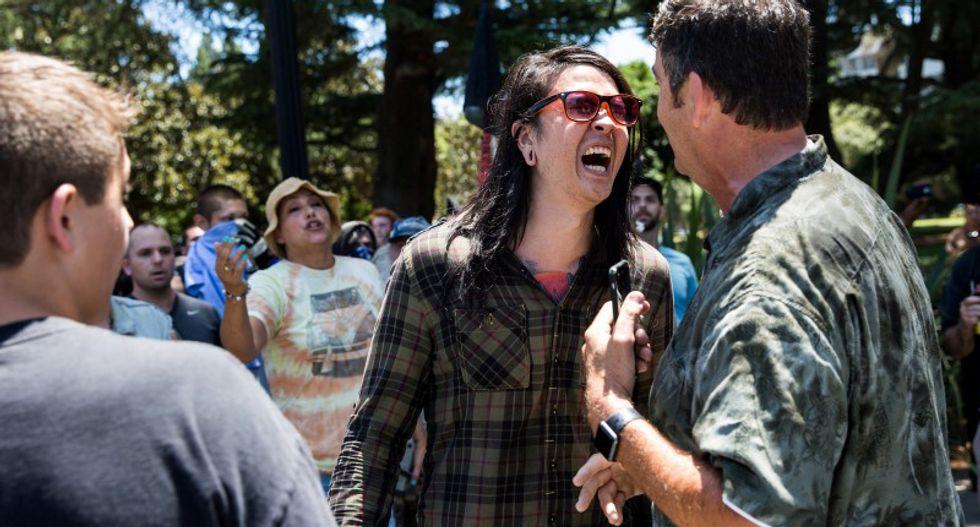 Multiple stabbing victims during rally in Sacramento, California