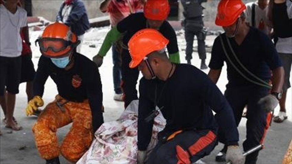 Death toll from Philippines earthquake reaches 99