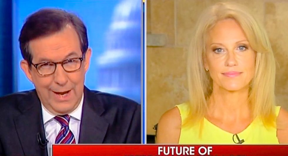 'Let's not waste any more time': Chris Wallace slams door on Kellyanne Conway's Russia deflections