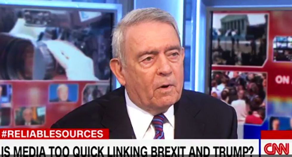 'Stunned disbelief': Dan Rather slams Trump for siding with Assange over US intel