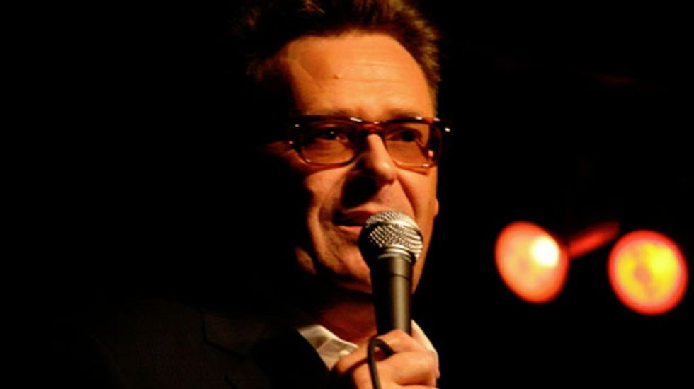 Comedian Greg Proops skewers Reagan for destroying the utopian spirit of the 1970s