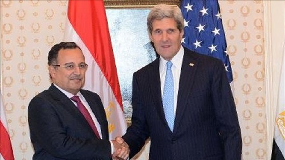 Egyptian foreign minister: Relationship with U.S. in 'delicate' phase