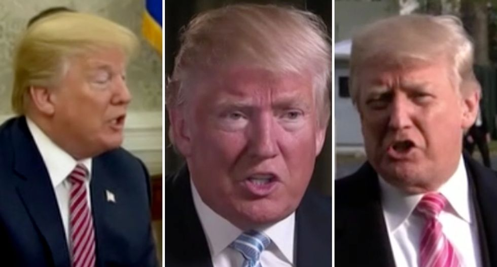 WATCH: MSNBC's Katy Tur rolls supercut of Trump defending men accused of assault and abuse