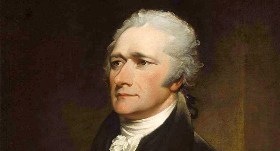Alexander Hamilton was obsessed with the threat a presidency like Trump's poses for America