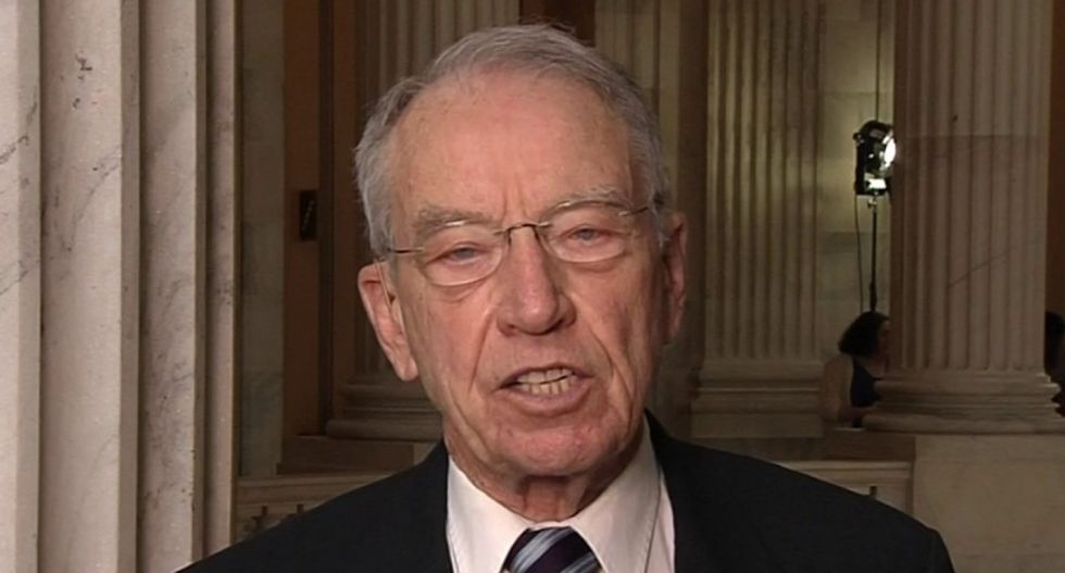Grassley extends deadline for Kavanaugh accuser while complaining that he is getting 'played'