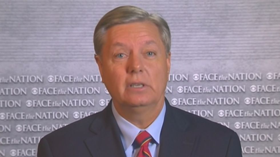 Sen. Lindsey Graham: My first act as president would be sending the military after Congress