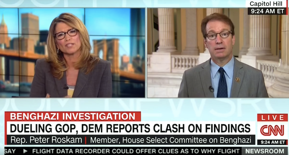 CNN host grills GOP lawmaker over Benghazi report: What's the point of any of this?