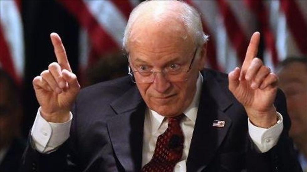 Dick Cheney lies