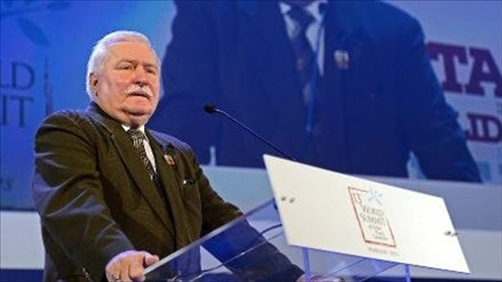 Poland's Lech Walesa to Trump: The US is no longer a moral world leader